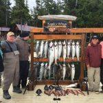Salmon fishing Southeast Alaska