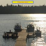 Alaska -Eagles Wings Retreat updated Dock